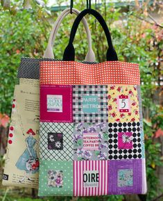 Pretty Little Totes - tutorial available