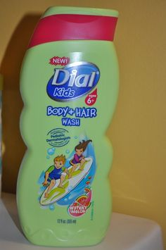 New Dial for Kids Body & Bath Wash {Review} (& Giveaway 3 Winners Ends 4/22), @Cherise Kachelmuss