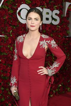 Pin for Later: Keri Russell Looks So Good in Her Tony Awards Dress, She Deserves a Standing Ovation