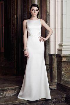 Wedding gown by Mikaella Bridal.