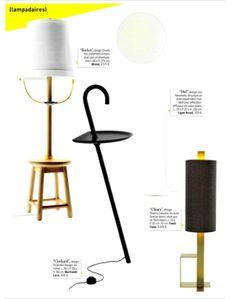 Clochard lamp on Marieclaire Maison