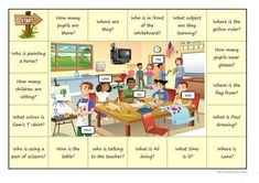 wh- questions using a image worksheet - Free ESL printable worksheets made by teachers