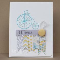 Enjoy the Ride | Make a Difference - great card by Lori Craig