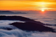 Baron, Celestial, Mountains, Sunset, Nature, Photography, Travel, Outdoor, Outdoors