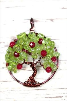 Wire Wrapped Tree of Life Bons
