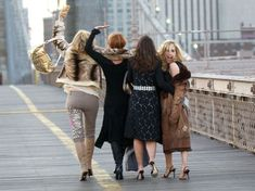 The definitive guide to dressing like the women from Sex and the City