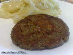 Hamburger light vegetali di lenticchie, ricetta facile (110 calorie) | LeRicetteSuperLightDiGiovi