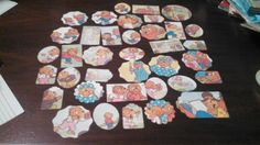 Berenstain Bears Scrapbooking Die cuts set of 37 pc by amylaugh, $5.95