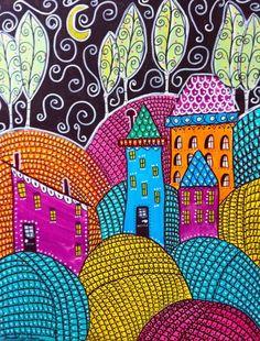 folk art houses