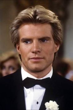 Jack Coleman in the Ground breaking role of Steven Daniel Carrington on Dynasty Coleman was the second to play Steven but played him the longest the role was noteworthy as one of the earliest gay main characters on American television. Classic Series, Classic Tv, Carrington Dynasty, Jack Coleman, Dynasty Tv Show, Der Denver Clan, 80 Tv Shows, Hottest Male Celebrities, The New Normal