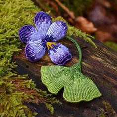 A little macrame ginkgo leaf joined my macrame pansies . … A little macrame ginkgo leaf joined my macrame pansies 😊 . Macrame Design, Macrame Art, Micro Macramé, Magical Forest, Macrame Tutorial, Spring Is Coming, Macrame Patterns, Hobbies And Crafts, Pansies