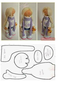 jolie doll pattern - Google Search