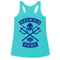 Mermaid Gang Racerback Tank
