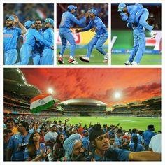 Ind v Pak ICC Cricket World Cup!!!! We won!!!!!! Sun 15th feb 2015!!!!!!