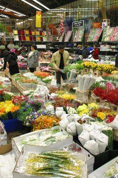 New Covent Garden Flower Market, Battersea, London