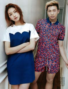 IM SCREAMING WHAT IS THIS?! REALLY GOOD PHOTOSHOP OR HORRIFYING NAMJOON CLOSET CHOICE?! OR HORRIFYING STYLIST CHOICE