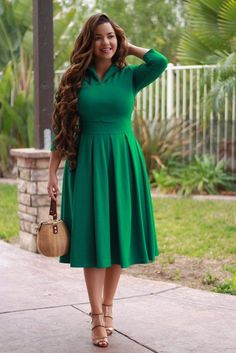 We offer classic, modest clothing pieces with a feminine vibe and professional edge to cater to working women. We want to empower you to wear what you like! Modest Dresses, Modest Outfits, Modest Fashion, Cute Dresses, Casual Dresses, Fashion Dresses, Formal Dresses, Modest Clothing, Fashion Shoes