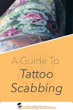Picking your tattoo scabs can have disastrous consequences. We show you how to treat scabbing tattoos properly to ensure that they heal quick and perfect.