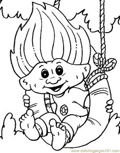 Nice Poppy Coloring Pages 86 coloring page Troll Giant