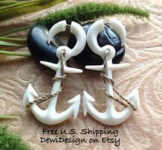 Hey, I found this really awesome Etsy listing at http://www.etsy.com/listing/103689681/fake-gauge-earrings-nautical-anchor-hand