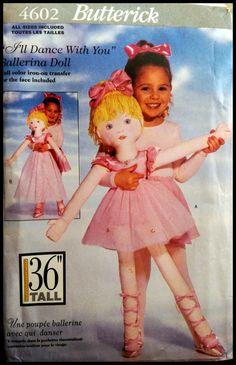 Butterick 4602  I'll Dance with You Ballerina by ThePatternShopp