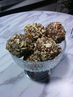 Mandelchokladbollar   Tjockkocken