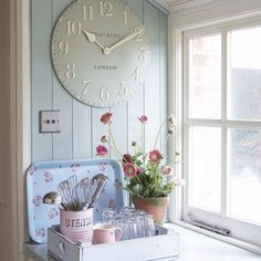shabby chic colors.