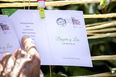 Postales Vintage. Un Seating Plan original wowedding@almaevents.com