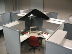 Cubicle Corner On Pinterest Cubicles Offices And