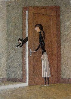 16-Franco Matticchio,Italian artist,illustrator,book illustration (8)
