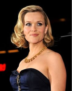 Image Detail for - Reese Witherspoon Curly Bob Hairstyles 2012