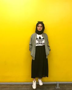 ZAFUL offers a wide selection of trendy fashion style women's clothing. Modern Hijab Fashion, Street Hijab Fashion, Muslim Fashion, Modest Fashion, Look Fashion, Skirt Fashion, Fashion Outfits, Hijab Casual, Hijab Style