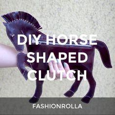 DIY HORSE SHAPED CLUTCH: a How.Do DIY original