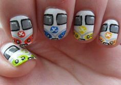 VW Volkswagen Nails