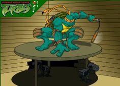 Teenage Mutant Ninja Turtles Mouser Mayhem game online