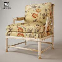 free armchair salda ke24 3d model