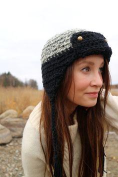 Virkattu hattu. Crochet Accessories, Winter Hats, Fashion, Moda, Fashion Styles, Fashion Illustrations