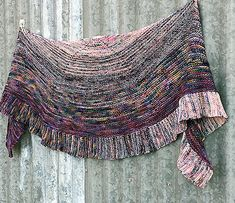Ravelry: Color Merger Shawl pattern by Sharyn Anhalt