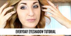 Video: Everyday Eyeshadow Tutorial | Wonder Forest: Design Your Life.