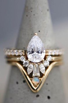 45 Best Pink Wedding Rings Images Wedding Rings Pink Wedding