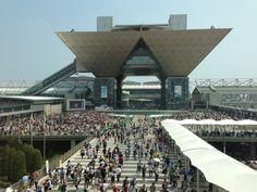 東京国際展示場 (東京ビッグサイト/Tokyo Big Sight) i 江東区, 東京都