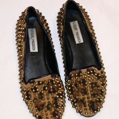 Steve Madden Shoes Funky cheetah print flats Steve Madden Shoes