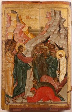 Воскрешение Лазаря. 89,5 х 60 см The Resurrection Of Lazarus. 89,5 x 60 cm
