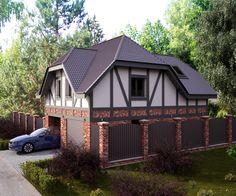 Гостевой дом с гаражом - Галерея 3ddd.ru