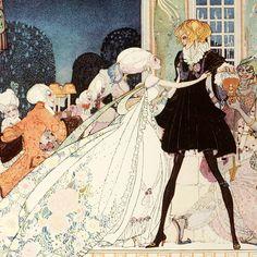 vintage illustration by kay nielsen