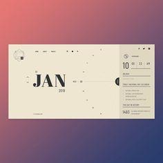 Calendar website concept by Videochat.my⠀ The post Calendar website concept by Videochat.my⠀ & appeared first on Design. Website Design Inspiration, Website Design Layout, Web Layout, Layout Design, Print Layout, Calendar Ui, Calendar Design, Web Design, Flat Design