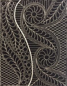 machine embroidery designs in the hoop Machine Quilting Patterns, Machine Embroidery Applique, Free Machine Embroidery Designs, Quilt Patterns, Applique Designs, Collages, Pewter Art, Paisley, Japanese Quilts