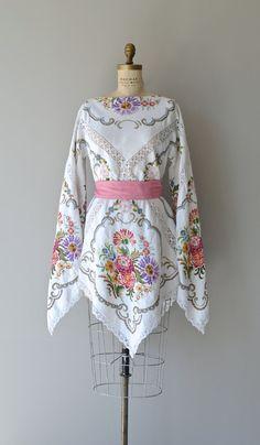 Seven Wonders dress vintage 1970s bohemian by DearGolden on Etsy