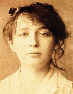 Camille Claudel, a talented sculptor(1864-1943) sadly ahead of her time.She was assistant, model and lover of Rodin.