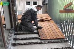 Montaż tarasu drewnianego
